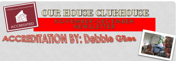 Our House News November-December